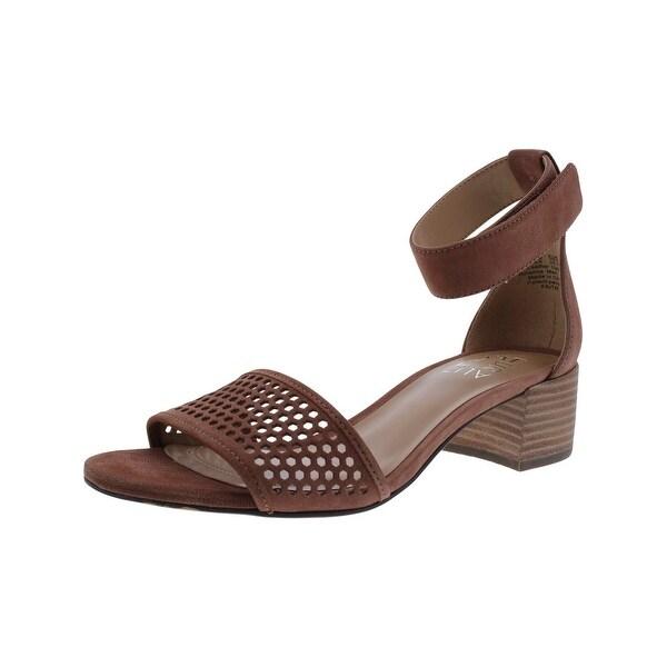 Naturalizer Womens Faith Dress Sandals Open Toe Block Heel