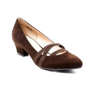 Andrew Geller Orella Women's Heels Dark Brown