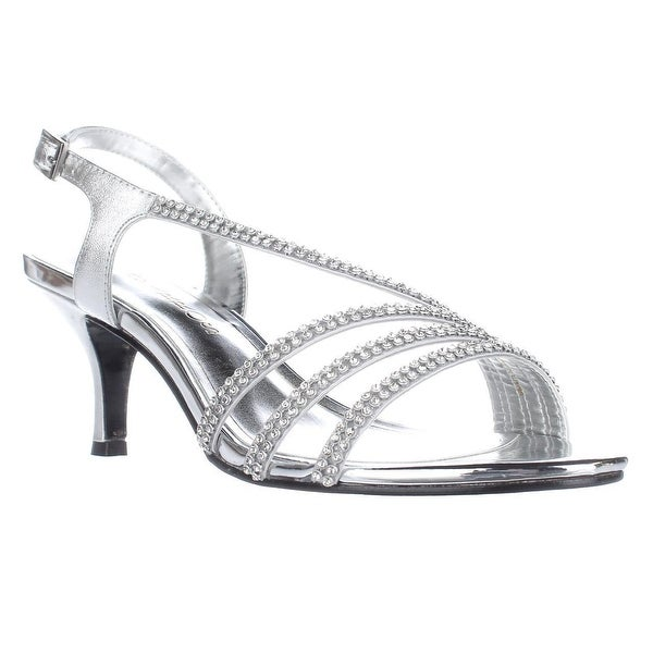 Caparros Bethany Slingback Dress Sandals, Silver