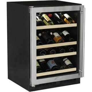 "Marvel ML24WS1L 24"" Wide 27-Bottle Built-In Single Zone Wine Cooler with LED Lig"