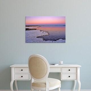 Easy Art Prints Chuck Haney's 'Dawn Color At Bowdoin' Premium Canvas Art