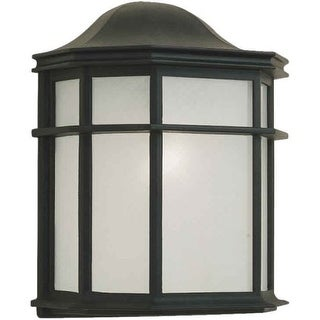Forte Lighting 1719-01 Outdoor Wall Sconce from the Exterior Lighting Collection