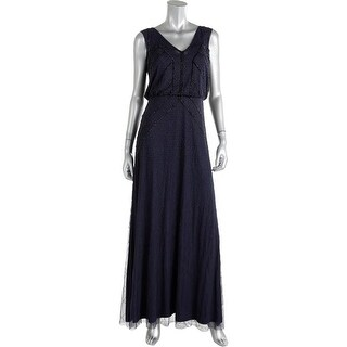 Aidan Mattox Womens Chiffon Prom Evening Dress