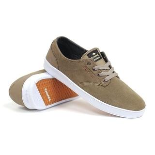Emerica The Romero Laced (Tan) Men's Skate Shoes-13 - Tan - 13 d(m) us