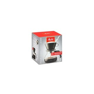 Melitta 640446 2 To 6 Cup Manual Coffee Maker 6 - Cup Pour Over Coffeemaker