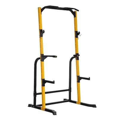 Zenova Power Tower Workout Dip Station for Home Gym Strength Training Fitness Equipment