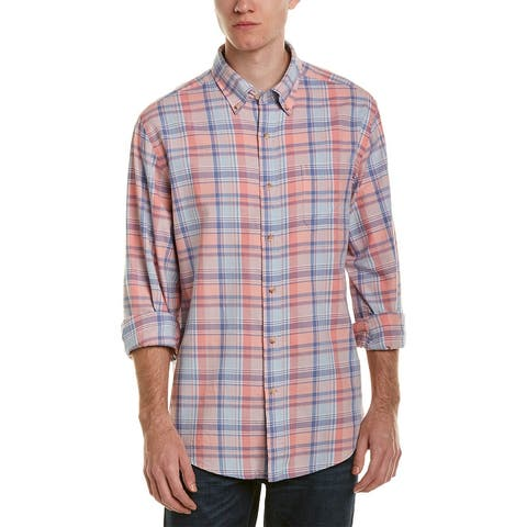 Southern Tide Trim Fit Woven Shirt