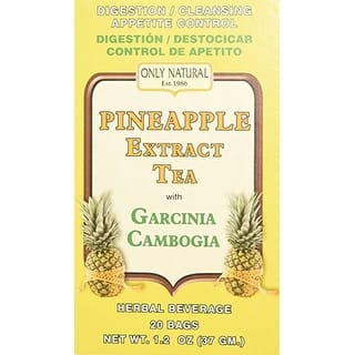 Only Natural Tea Pineapple Extract 20 Bag https://ak1.ostkcdn.com/images/products/is/images/direct/43b90c271eb1880e75aa1575bc3ea3cc5ecd0faf/ONLY-NATURAL---TEA%2CPINEAPPLE-EXTRACT-20-BAG.jpg?impolicy=medium