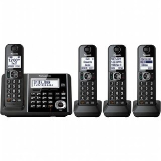 Dect 6.0 4-Handset digital cordless phone With Answering machine