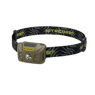 NITECORE NU30 White/Red/High CRI Output Rechargeable Headlamp (Army Green)