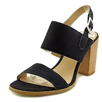 STEVEN by Steve Madden Womens JAXIN Leather Open Toe Casual Ankle Strap Sandals - 8.5