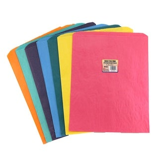 Hygloss Products Inc. Colorful Paper Bags 12X15 Asstd