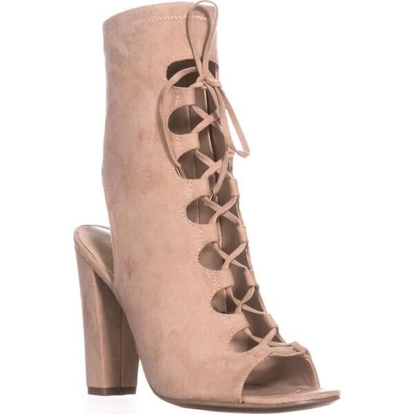 Guess Laila2 Lace-Up Dress Sandals, Light Natural - 6.5 us