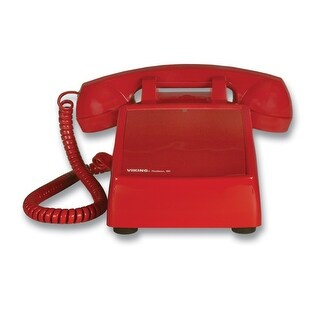 Viking Electronics VK-K-1900D-2M Hot line Desk Phone - Red
