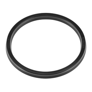 Hydraulic Seal, Piston Shaft USH Oil Sealing O-Ring, 71mm x 80mm x 6mm