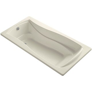 "Kohler K-1259 Mariposa Collection 72"" Drop In Soaking Bath Tub with Reversible Drain"