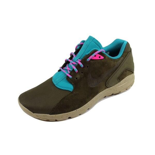 Nike Men's Koth Ultra Low Dark Loden/Dark Loden-Radiant Emerald 749486-333
