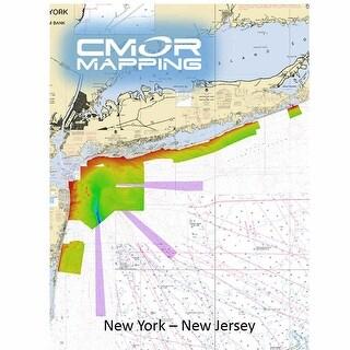 CMOR Mapping NY and NJ f/Simrad, Lowrance, Band G and Mercury CMOR Mapping NY and NJ