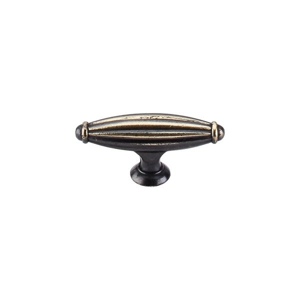 "Top Knobs M151 T-Handle 2-5/8"" Long Bar Cabinet Knob from the Tuscany Series - dark antique brass"