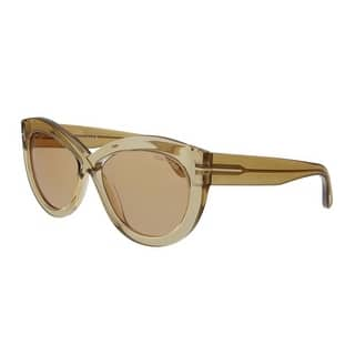 84329511c6 Tom Ford TF431 Greta 01Z Womens Black Gold 50 mm Sunglasses. SALE. Quick  View