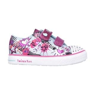 Skechers 10608 TQHP Girl's Toddler TWINKLE BREEZE-POP-TASTIC Sneaker