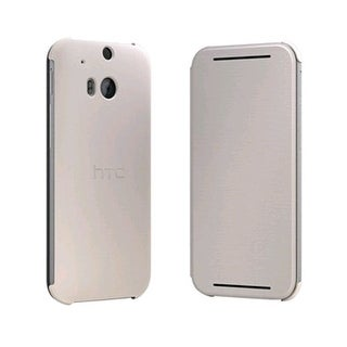 HTC Flip Case for HTC One (M8) - Light Brown