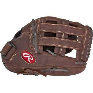 "Rawlings P120HC Player Preferred Leather 12"" LHT Softball Glove Brown"