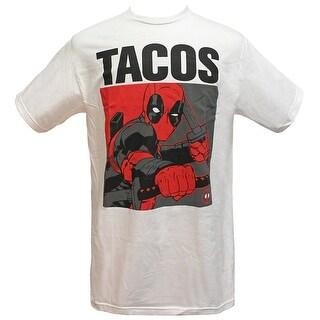 Marvel Deadpool Tacos Men's T-Shirt