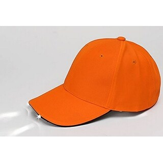 Panther Vision Mens Powercap® Led Cap, Blaze Orange, Os