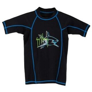 Guy Harvey Boys Mako Attack Performance Shirt