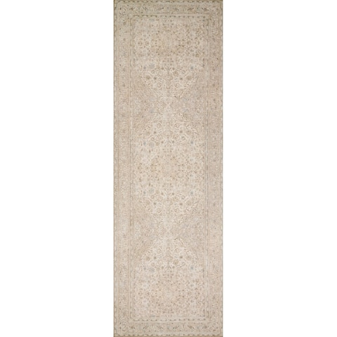 Alexander Home Tremezzina Printed Botanical Distressed Shabby Chic Rug