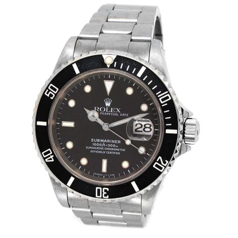 Pre-owned 40mm Rolex Submariner - 7 inches