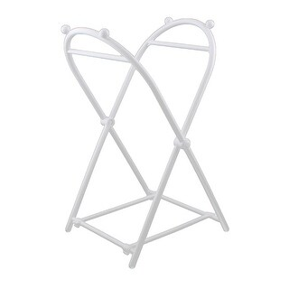 Family Kitchen Plastic Garbage Waste Rubbish Trash Bag Frame Holder White