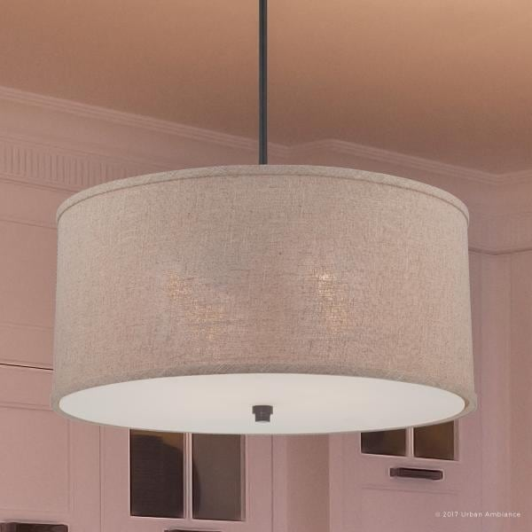 Luxury Modern Farmhouse Pendant Or Chandelier 12 H X 22 W With