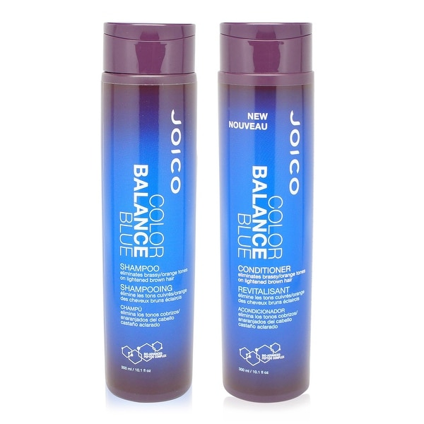 Joico Color Balance Blue Shampoo and Conditioner 10.1 Oz