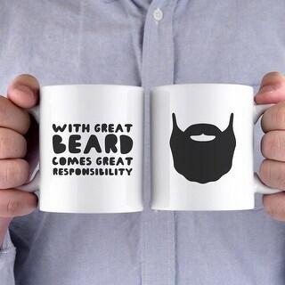 Printed Mug Great Beard Great Responsibility
