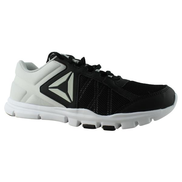 94a3aba61162 Shop Reebok Womens Yourflex Trainette 9 Black Running Shoes Size 11 ...