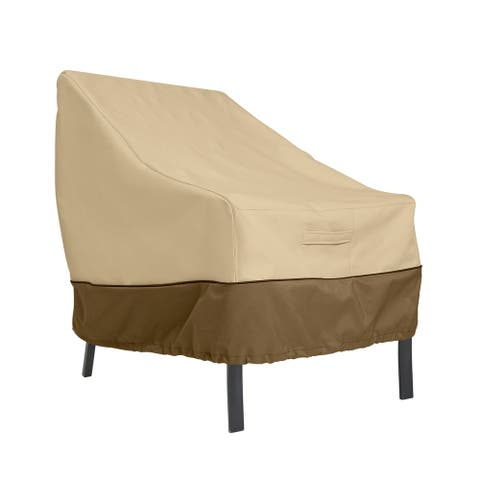 Classic Accessories Veranda Water-Resistant 30 Inch Patio Lounge Chair Cover