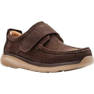 Propet Men's Otto Slip-On Brown Tumbled Leather