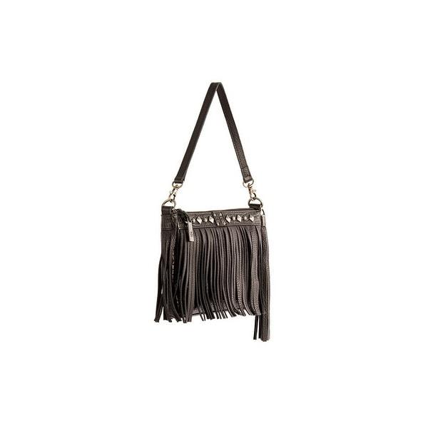 """StS Ranchwear Western Wallet Women Dixie Clutch Leather Black - 9 ¼ """" w x 6 ¾ """"t x 1.5"""" d"""