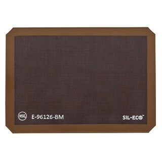 "Sil-Eco 8150 Half Size Bread Mat, 11-5/8"" x 16-1/2"""