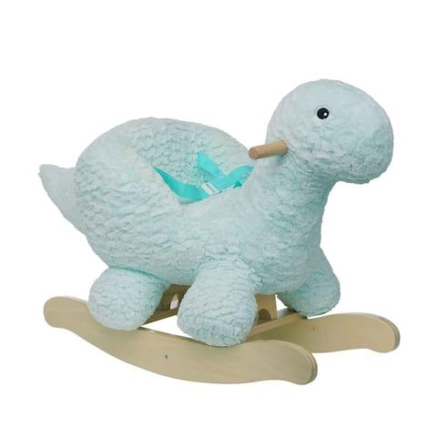 Manhattan Toy Rock 'n Roary Plush Dinosaur Rocking Toy