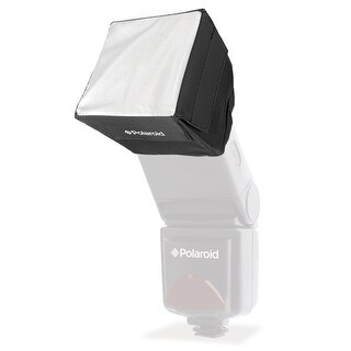 Polaroid Mini Universal Studio Soft Box Flash Diffuser for All External Units