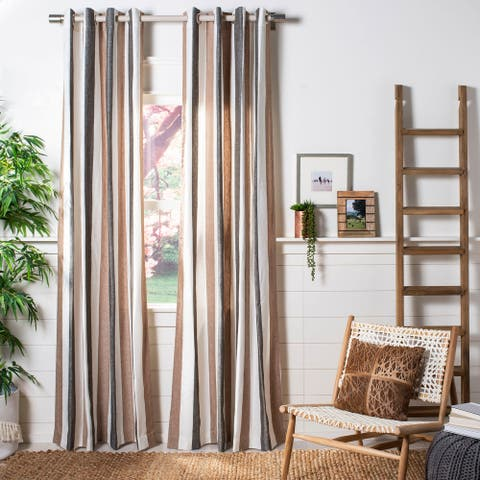 Safavieh Larri Semi-Sheer Window Curtain Panel