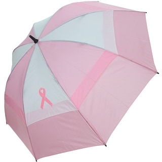 "BagBoy Women's 62"" Breast Cancer Awareness Umbrella"