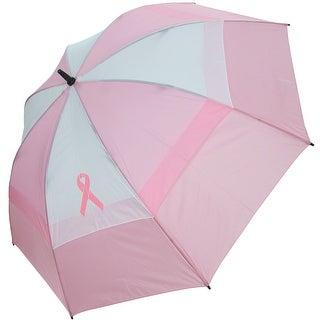 "BagBoy Women's 62"" Breast Cancer Awareness Umbrella"
