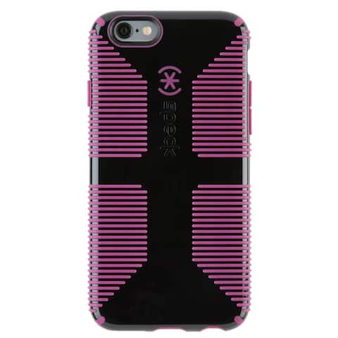 Speck 73425-C077 CandyShell Grip iPhone 6s & iPhone 6 Cases, Black & Purple