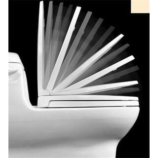 Centoco 1400SC-106-A Bone Luxury Safety Close Toilet Seat