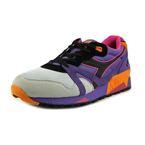 Diadora N9000 Men Round Toe Synthetic Purple Sneakers