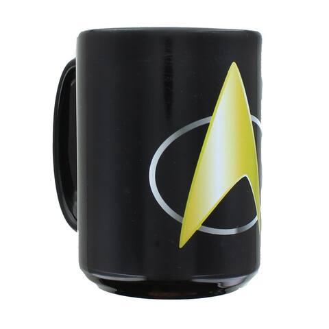 Star Trek Heat Changing Mug - Black
